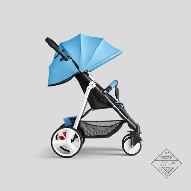 英萊兒 嬰兒推車寶寶可坐可躺輕便折疊避震四輪便攜式推車bb車 sbc33
