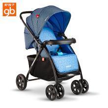 好孩子(gb) 嬰兒推車 嬰兒車輕便 高景觀 兒童寶寶推車減震可坐可躺嬰兒手推車C300