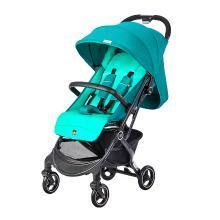 好孩子(gb)嬰兒推車 寶寶兒童可坐可躺輕便折疊避震靠背可調節手推車 加州風情綠色D628