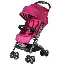 好孩子(gb)嬰兒推車 寶寶 兒童手推車 輕便折疊 可坐可躺 避震 玫紅 D678-H
