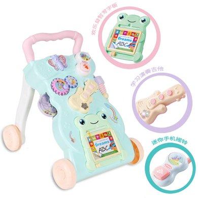 婴儿学步车手推车儿童宝宝多功能带音乐可调速助步车玩具TTL999-1