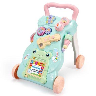 寶寶多功能學步車手推車玩具嬰兒童防側翻助步車6-7-18個月1歲YZDZ999-1