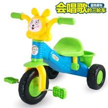 儿童三轮车童车小孩自行车?#30424;?#36710;学步车玩具宝宝单车1-3-5岁YZDZ三轮车