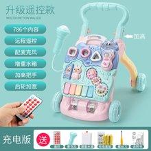 婴儿学步车手推车防侧翻学走路助步男宝宝6-7-18个月一岁儿童玩具YZQD999-23