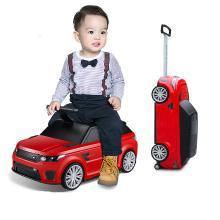 英莱儿 新款儿童拉杆箱可坐可骑行李箱小孩登机箱滑行车卡通箱包xbc7