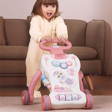 英莱儿 婴儿学步车宝宝学步推车婴幼儿学行助步车防侧翻儿童学步手推车 标准款xbc22