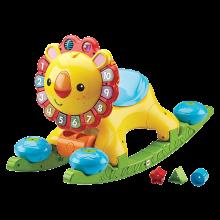 英莱儿 益智4合1多功能狮子学步车 宝宝儿童手推车玩具xbc14