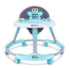 英莱儿 婴儿学步车宝宝防侧翻折叠多功能儿童小孩婴幼儿学行助步车xbc9