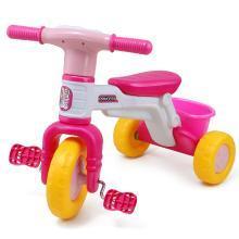 儿童三轮车婴幼儿玩具三轮车小孩警车款自行车宝宝?#30424;?#36710;YZQD1506AYL