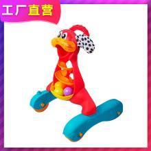 英莱儿 婴儿学步车手推车多功能益智玩具宝宝学走路助步车玩具发光音乐小狗学步车xbc25