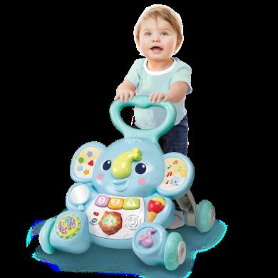 VTech偉易達嬰幼兒寶寶手推助步學步車兒童走路推推樂玩具0-24月