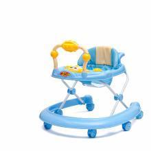 英莱儿 婴儿学步车多功能防侧翻男女孩宝宝可折叠幼儿童学行车音乐xbc10