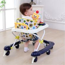 英莱儿 婴儿童宝宝学步车多功能防侧翻6-12/18个月男宝宝折叠女孩手推车 xbc40