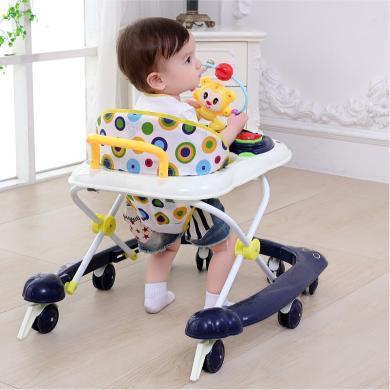 英萊兒 嬰兒童寶寶學步車多功能防側翻6-12/18個月男寶寶折疊女孩手推車 xbc40