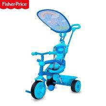 费雪fisher price 2029户外儿童车三轮车 ?#30424;?#36710;踏行车玩具