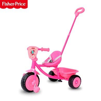 费雪Fisher Price  202C多功能户外儿童脚踏三轮车 手推童车 儿童自行车
