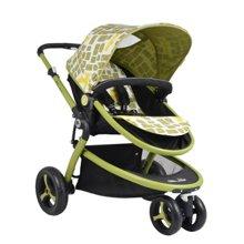 Gubi 咕比EVA轮式婴儿手推车H315B(正反双方向/可平躺/小型收纳/大容量)天秤座