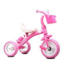 奧特王 凱蒂貓HELLO Kitty兒童三輪車腳踏車2-3-6歲男女寶寶手推三輪車小孩嬰幼兒腳踏單車