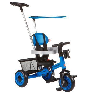 好孩子(gb)兒童三輪車1-3歲遛娃手推車多功能腳踏自行車SR600R