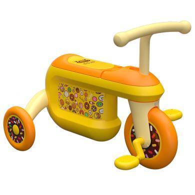 乐的 B.duck儿童储物自行车1-3岁童车宝宝脚踏单车三轮车溜娃神器