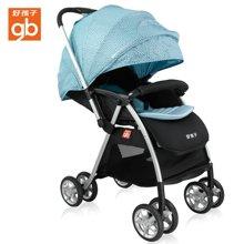 好孩子宽舒版蜂鸟婴儿推车 轻便携折叠童车可躺可坐推车(C826-N110GG)