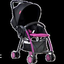 Pouch超轻便婴儿手推车儿童伞车折叠便携可坐躺双向宝宝bb车冬夏两用灵巧秒收A08