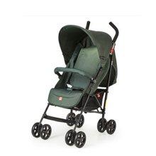 好孩子轻便婴儿伞车可平躺宝宝手推车便携折叠避震童车婴儿车(D400-Q404 墨绿色)