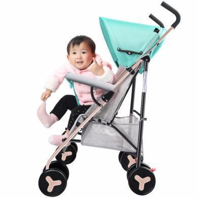 英萊兒 嬰兒推車輕便嬰兒車傘車兒童一鍵收車四輪寶寶車手推車可折疊減震 stc26