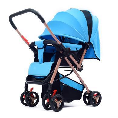 英莱儿 婴儿推车婴儿车伞车童?#30331;?#20415;可折叠可平躺双向手推车stc5
