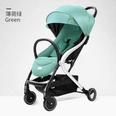 德國Pouch帛琦A70嬰兒車折疊可坐可躺兒童手推車超輕便透氣加寬減震四季寶寶車適用0-3歲寶寶