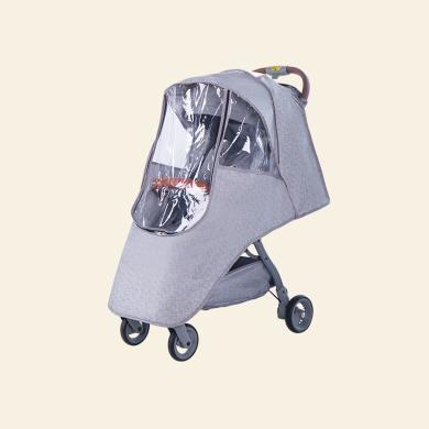 婴儿推车雨罩 通用雨披防风罩透气防尘雨衣儿童车挡雨罩