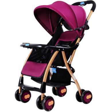 英萊兒 嬰兒推車輕便折疊嬰兒車推車可坐躺兒童傘車寶寶手推車stc14