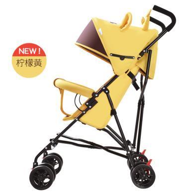 呵寶 嬰兒車超輕便可折疊兒童避震手推車可坐可半躺卡通夏季傘車