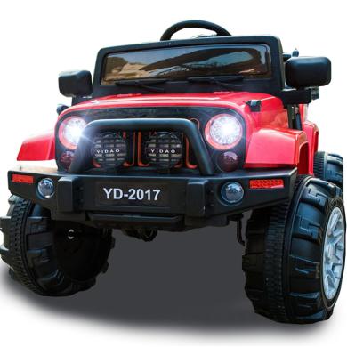 英萊兒 兒童電動車吉普越野搖擺遙控玩具汽車可坐人男女小孩寶寶電瓶ddc14