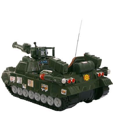 英萊兒 兒童電動車坦克款兒童電動可坐人電動玩具車四輪雙驅充電遙控車ddc28