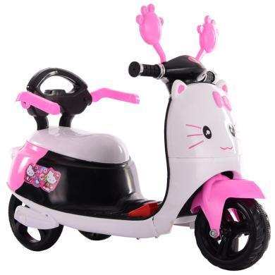 英萊兒 新款兒童電動摩托三輪車 小孩卡通電瓶童車男女孩幼童玩具車ZXC7