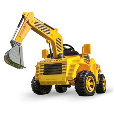 英萊兒 兒童電動車挖掘機遙控搖擺童車玩具車可坐人挖土機工程車四輪汽車 ddc29