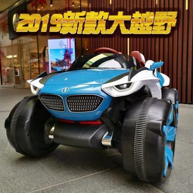 英萊兒 兒童電動車汽車1-3歲寶寶四輪可坐人遙控越野車充電童車玩具車ddc27