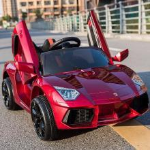 英莱儿 儿童电动车四轮双驱玩具汽车可坐人遥控摇摆早教小孩玩具童车ddc17