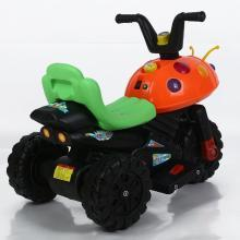 英莱儿 儿童电动车摩托车九灯甲壳虫三轮车男女宝宝婴儿小孩玩具电瓶童车ZXC10