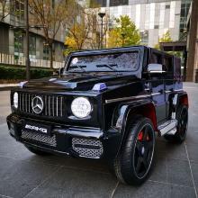 儿童奔驰G65 儿童电动车可坐人 四驱软座超大玩具车 速度可调LXX-MT7188(备注要白或黑)