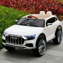 吉米Q8儿童电动车四轮遥控四驱越野车宝宝汽车双人玩具车可坐人LXX002(备注下要什么色,没备注随机发)