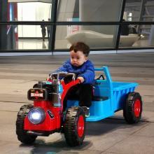 贝多奇拖拉机 儿童?#22336;?#30005;动车 东方红Mini拖拉机充电可坐人LXX001