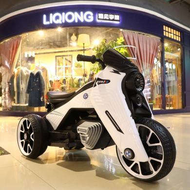 英萊兒 童電動摩托車寶馬寶寶可坐三輪摩托車小孩三輪車嬰兒玩具車 etddc41