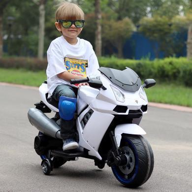 英萊兒 兒童電動摩托車三輪車超大號寶寶玩具車小孩兒電瓶車嬰幼兒四輪車 etddc43