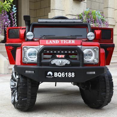 英萊兒 SUV越野兒童電動車超大號電瓶童車可坐雙人四驅強動力汽車 etddc46