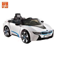好孩子(gb)電動車寶馬兒童電動車四輪遙控車電動童車W480