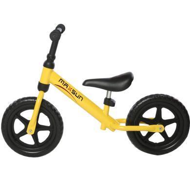德國MAXSUN兒童平衡車滑行車金屬滑步車寶寶無腳踏 童車 1-3-6歲