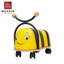 德国maxsun儿童溜溜车 宝宝滑行车 扭扭车1-3岁 学步车滑行玩具