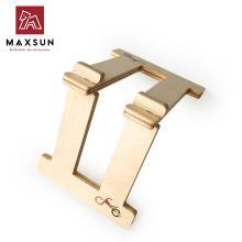 maxsun原木平衡车停车架 儿童自行车木制停车架 平衡车支架